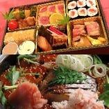 ほたる名物詰め合わせオードブルと土鍋御飯(2合)が一緒になった、とてもお得なセット8484円→7800円!