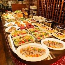 【貸切】スタンダードパーティープラン 2時間飲み放題付全14品¥6000(ウエディング二次会 記念日)