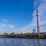 【屋上貸切】最大24名様まで着席可能な隅田川一望のパーティースペース!