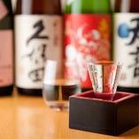 香りと味わいで4つのタイプに日本酒を分け、それぞれの特徴を表した目安で自分の好みの日本酒をどうぞ。