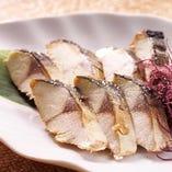 トロ鯖の香り焼き