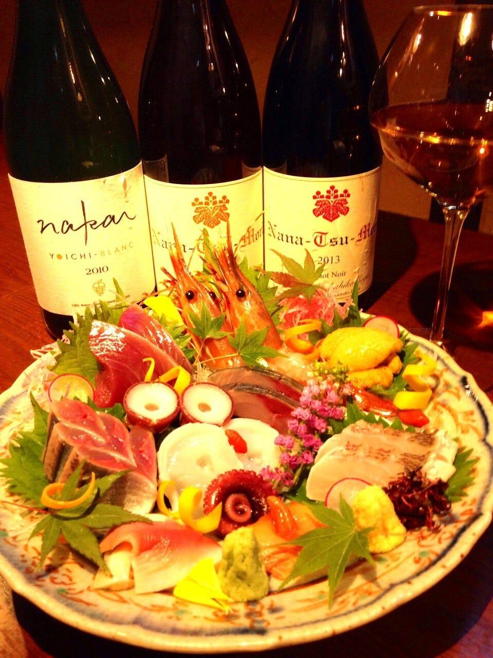 和食に寄り添うワインあります。