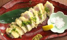 ◆絶品!大山鶏のレア天ぷら