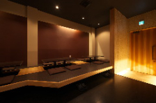 ◆シックな雰囲気が魅力的な空間