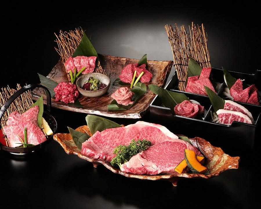 飲み放題宴会プラン☆6,000円~ 厳選黒毛和牛をご堪能ください