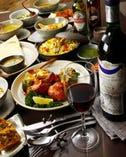 本場最高級ホテル出身シェフが調理する上質なインド料理の数々