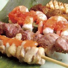 サテ(インドネシア風 串焼き)