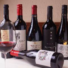 ワインが1,000円で飲み放題