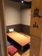 少人数でも対応出来る掘りごたつの特別個室!