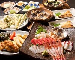 【円か宴会コース】 2時間飲み放題付4,250円