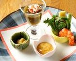 ■前菜 季節の味を存分にお楽しみいただけます■
