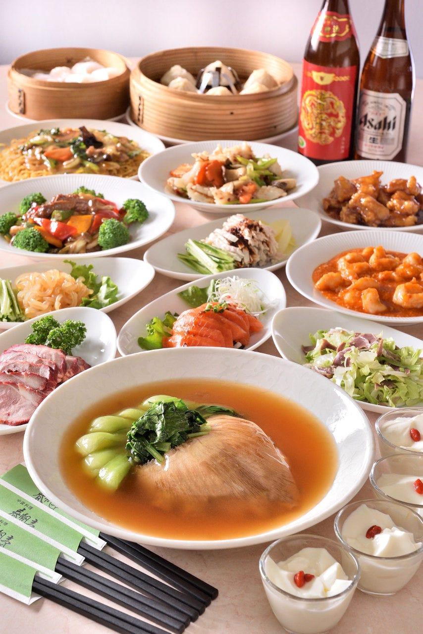 フカヒレの姿煮コミコミ宴会コース