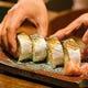 人気・あぶり鯖寿司