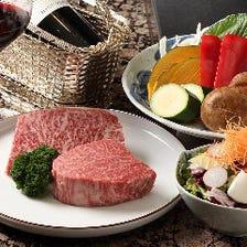 神戸牛の高級部位をご堪能『なでしこのコース』 誕生日・記念日《神戸ビーフ》