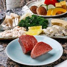 神戸牛ステーキと選べるお料理2品『福(ふく)のコース』宴会・誕生日・記念日《神戸ビーフ》