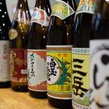 酒好き必見◎日本酒、焼酎、果実酒など充実の品揃えです♪