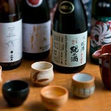 ■大将目利きの厳選日本酒
