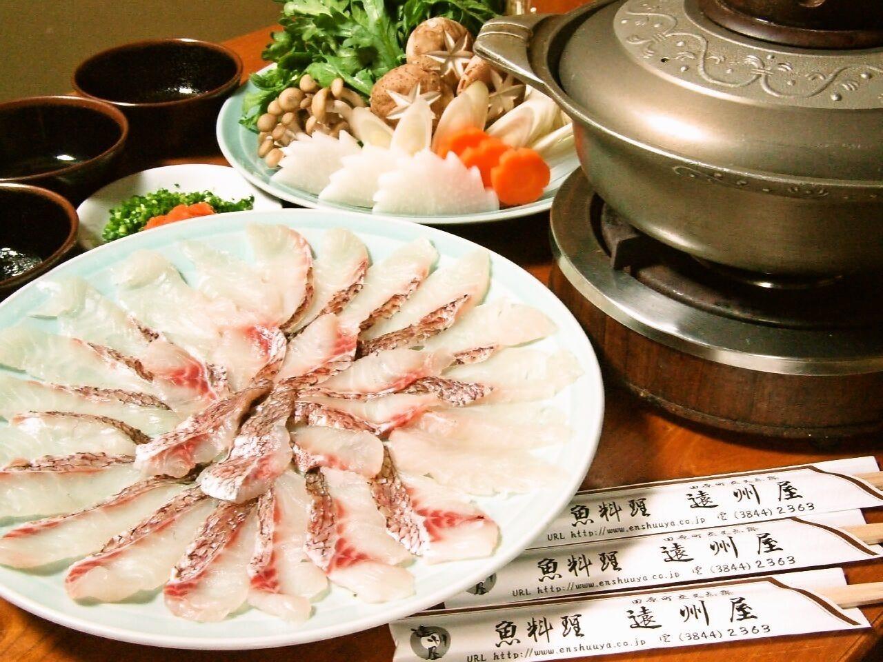 創業55年人気海鮮しゃぶや名物各種鍋
