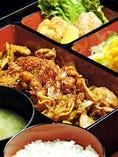 鶏の味噌はらみ御膳(御飯・お椀付)