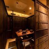 接待やお食事会に最適な完全個室