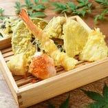 天ぷら盛り合わせ 八種