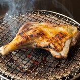 シャモロックを一番美味しく食べる方法、それは炭火焼き!
