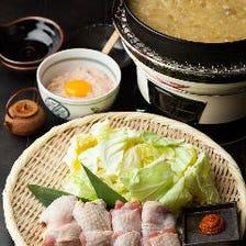 純シャモロックスープの水炊き鍋