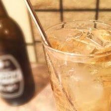 ◆心家サク飲みセット1,100円◆ドリンク1杯がついて串焼きも楽しめる!
