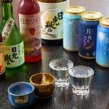 ドリンクメニュー栃木県の地酒やワインなど取り揃え