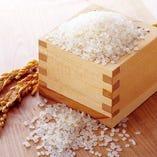 当店で使用するお米は厳選した栃木県産コシヒカリ使用【栃木県】