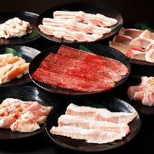 【豚・鶏食べ放題】120分焼肉食べ放題(L.O.90分)お1人様2,180円