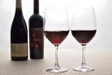 イタリアワインをはじめ各国の厳選ワインも取り揃えております。