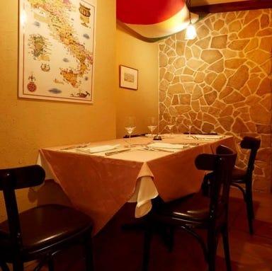 トラットリア イルポンテ  店内の画像