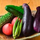 自社農園で育む彩り鮮やかな野菜◎