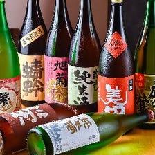 筑後から選りすぐった日本酒で晩酌を