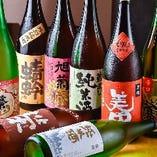 12種類の筑後の純米酒は自慢!