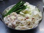 天然ダシと無添加味噌しょうゆのモツ鍋