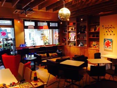 Whistle CAFE  店内の画像