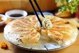 手作りニラ焼き餃子 or 水餃子