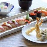 天ぷらとにぎり鮨