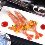 お刺身・カルパッチョ・オーブン焼き・フリットなど魚介も充実♪