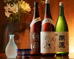 四季を愛でる逸品に美酒を合わせてお好みの一杯をお楽しみ下さい