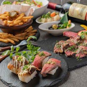 完全個室×本格熟成肉バル ミートデミート 新橋駅前店 コースの画像