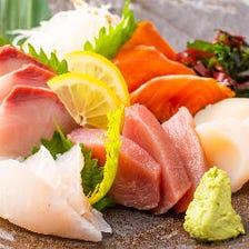 海に面した新潟県の地元鮮魚を堪能!