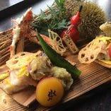 和食を中心に新鮮なお魚や旬のお野菜