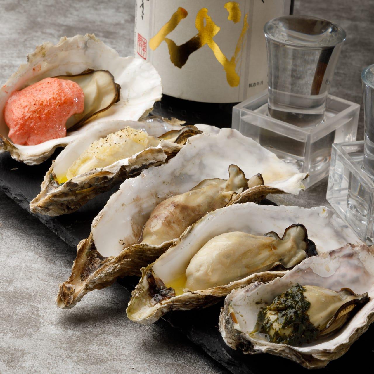 安全、安心の無菌牡蠣を使用!