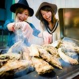 豪快!焼き牡蠣1Kg 2,500円(税込)