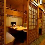 【2名様~個室OK】 少人数でご利用可能な完全個室を完備。
