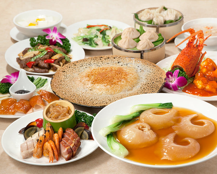 ◆羽根付き焼きそばと大フカヒレ姿煮コース《全11品》|宴会・接待