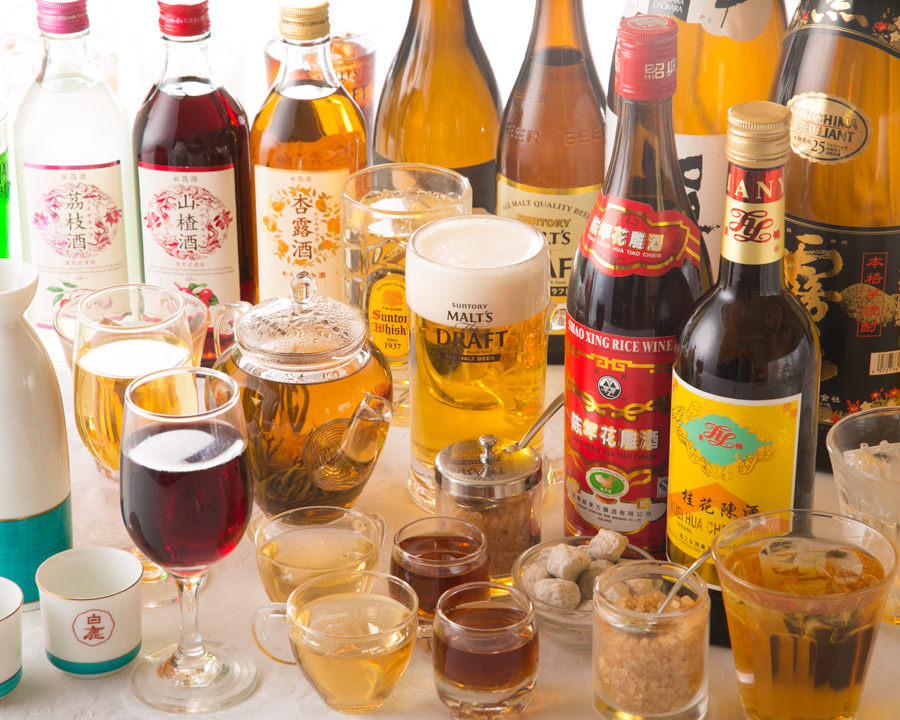 自慢の料理とお好きなお酒で 満足中華タイムをご堪能下さい♪